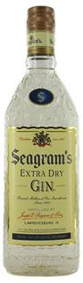Seagram's Gin Extra Dry 750ml